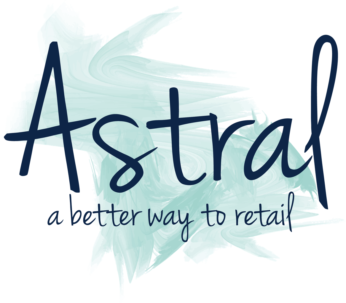 Astral text with swish