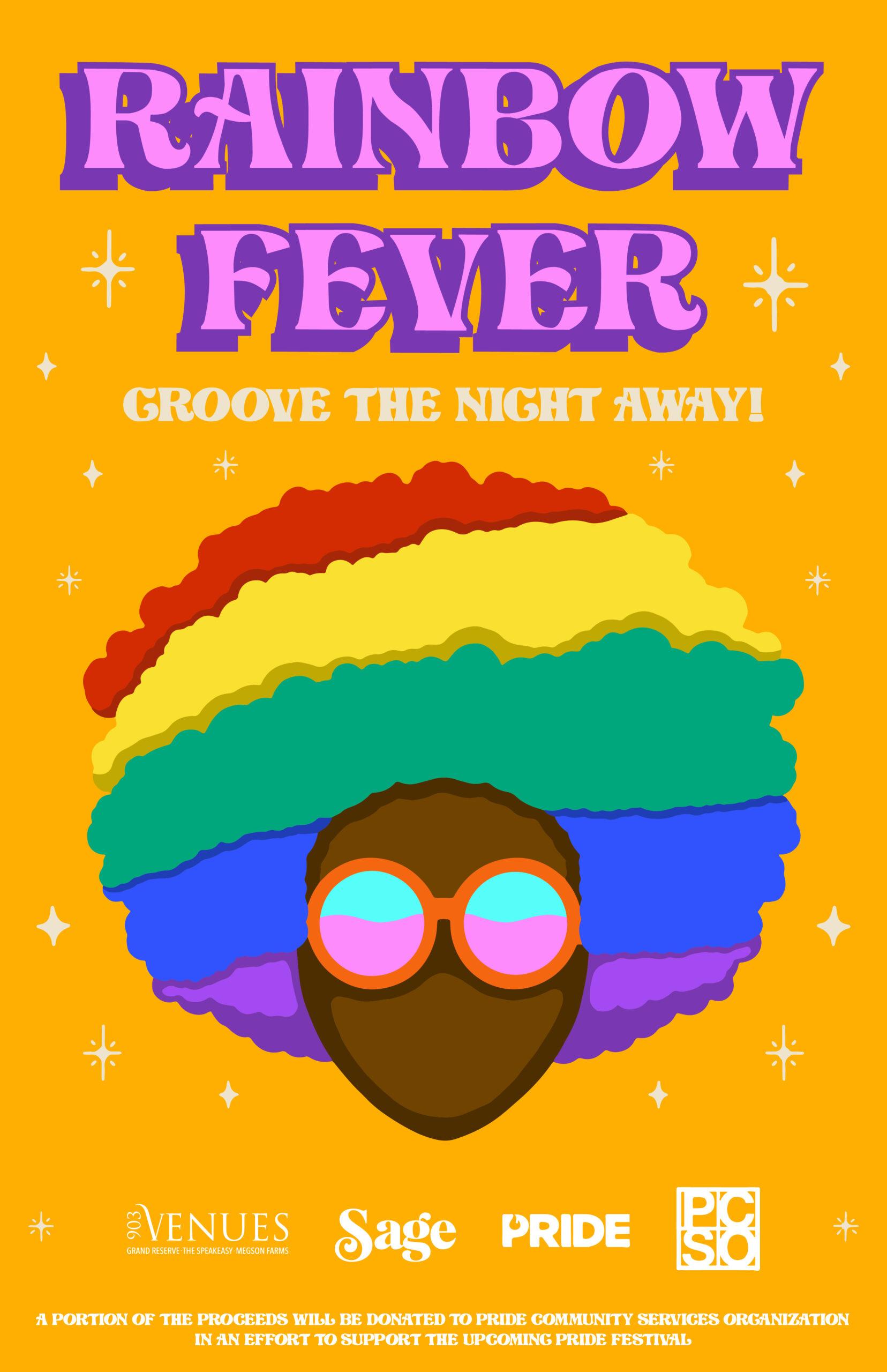 Rainbow Fever Poster